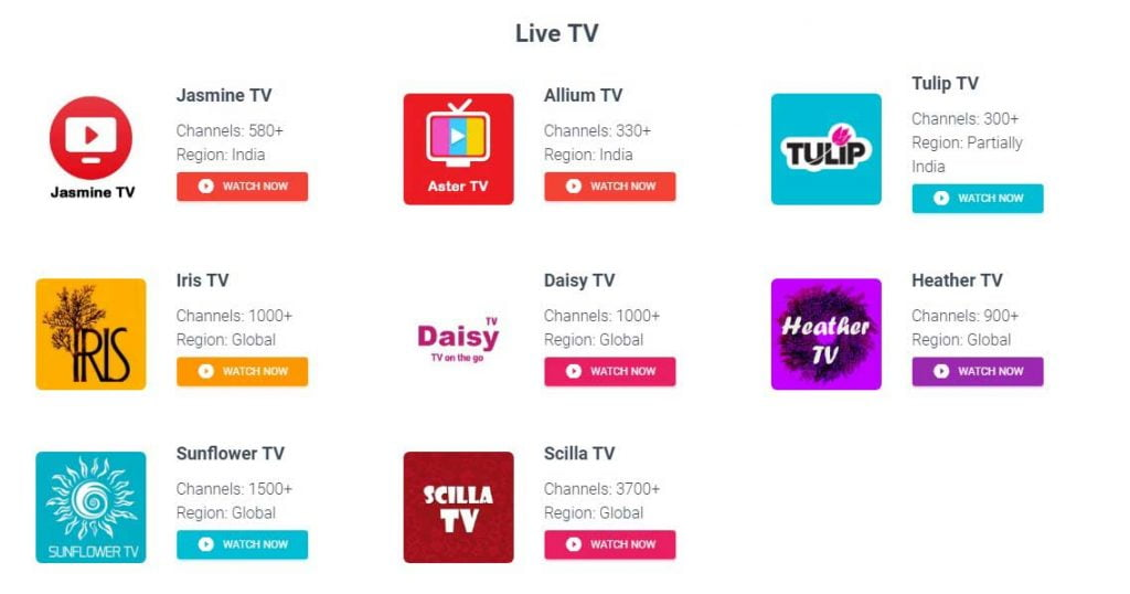 Thoptv live tv