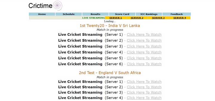 Crictime Live Cricket Streaming Gotechnew